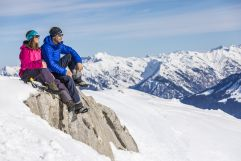 Winterwandern in der wunderschönen Berglandschaft (c) Frank Drechsel (Genuss & Aktivhotel Sonnenburg - Kleinwalsertalhotels)