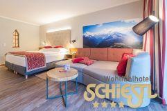 Wohnbereich der Kuschelnest Suite (WohlfühlHotel Schiestl)