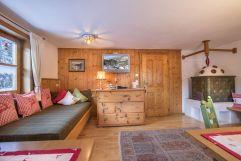 Wohnzimmer im Bauernhaus Kühnreit (c) Reifmüller (Wanderhotel Gassner)