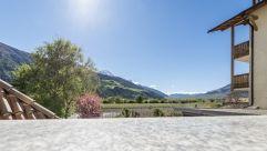 wunderschöne Aussicht vom Balkon (c) Hannes Niederkofler Photography (Wanderhotel Vinschgerhof)