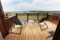 Wunderschöner Ausblick von der neuen XL-Terrasse (Hotel Larimar)