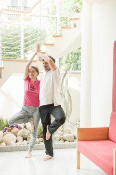 Yoga zu zweit (IMPULS HOTEL TIROL)