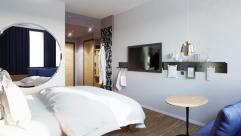 Zimmer im roomz am Wiener Praterstern (roomz Vienna Prater)