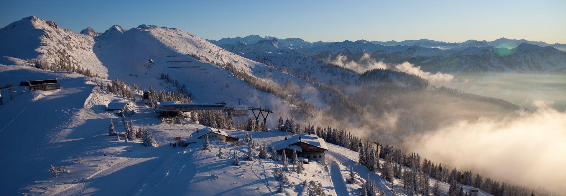Bergstation Flying Mozart (c) TVB WagrainKleinarl (Chaletdorf Prechtlgut)