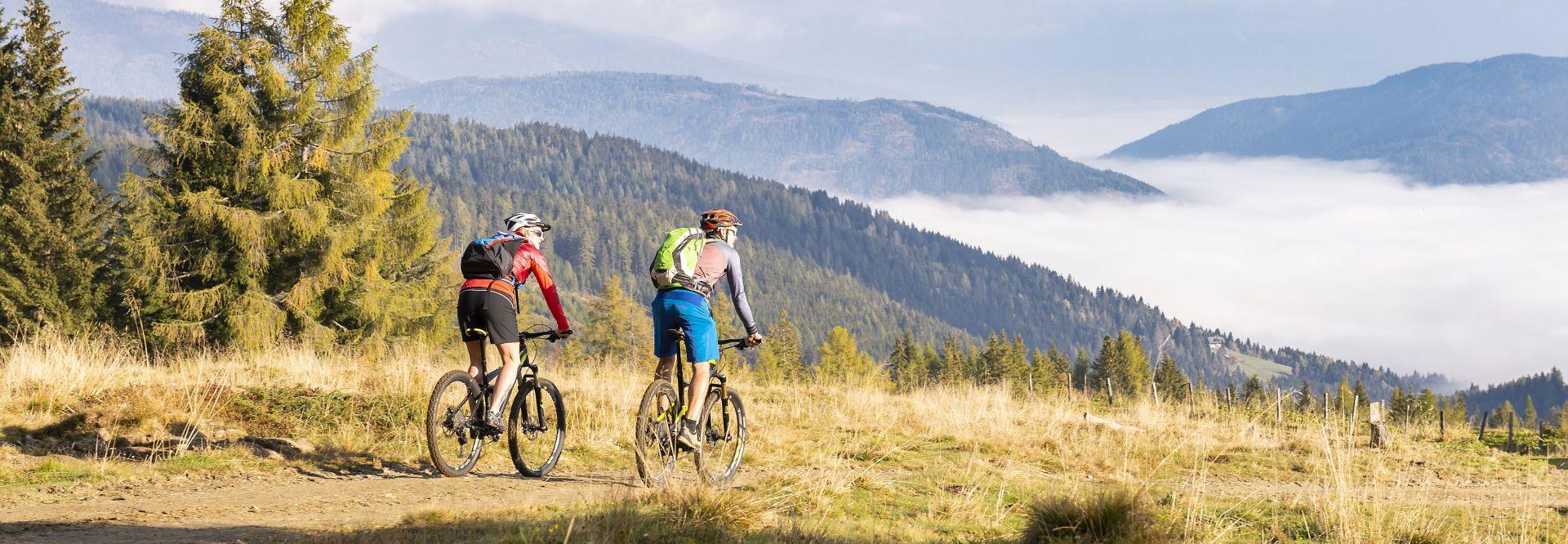 Biken in herrlicher Berglandschaft (c) MühlbacherRupert GAS (St. Margarethen)