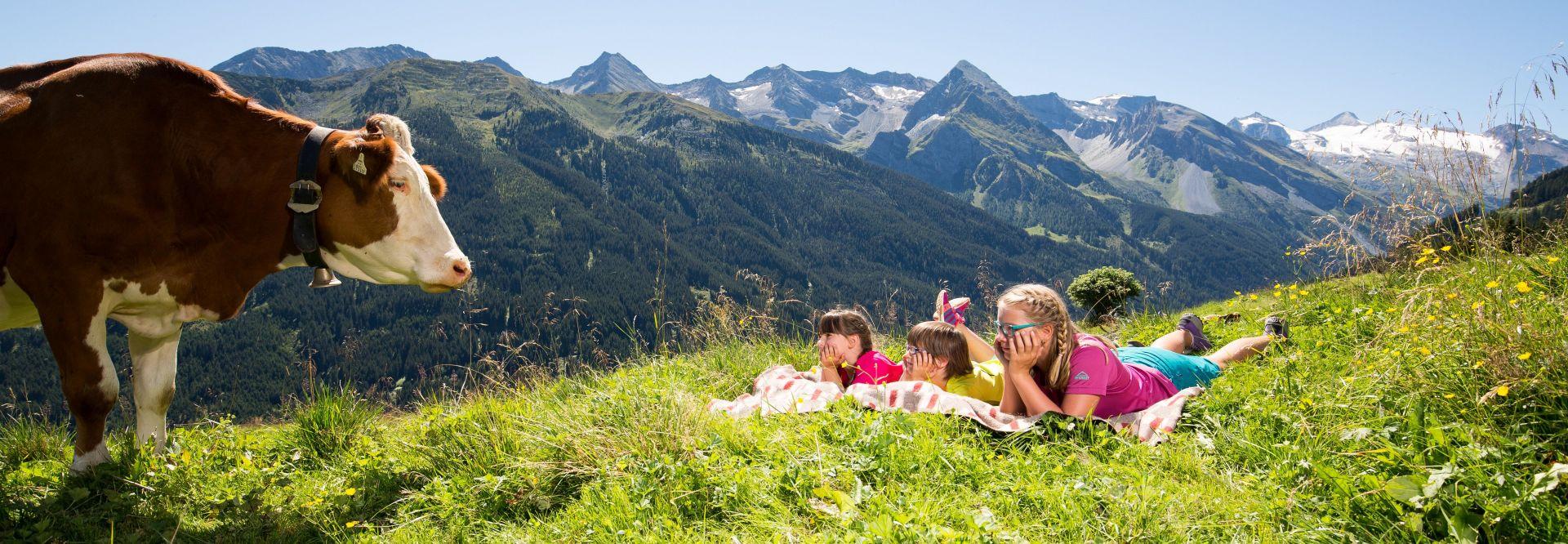 Kinder entspannen in der Wiese (c) shootandstyle.com (Tux-Finkenberg)